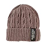 OMMR-Clearance Unisex Warm Crochet Winter Knit Villus Beanie Skull Slouchy Caps Hat Thicker