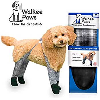 Walkee Paws Waterproof Dog Leggings - Keep Your Dog's Feet Clean and Dry  Without The Hassle of Boots - Classic Checkered Color