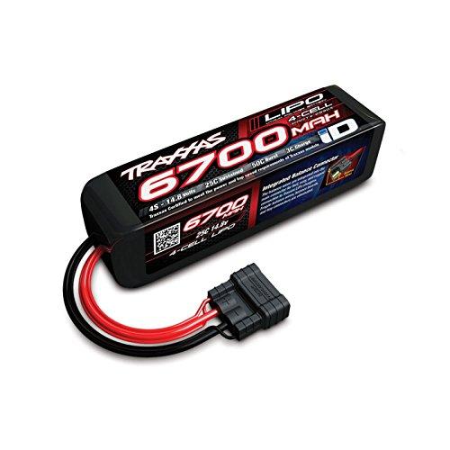 Traxxas 2890X 6700 mAh 14.8V 4-Cell 25C LiPo Battery Vehicle