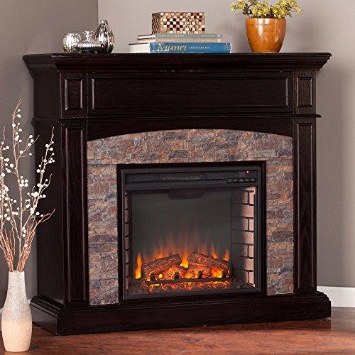 Faux Stone Electric Fireplaces: Amazon.com