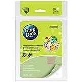 Glue Dots Mini Adhesive Dot Sheets, Contains 252 (.19 Inch) Diameter Adhesive Dots (33709-FC)