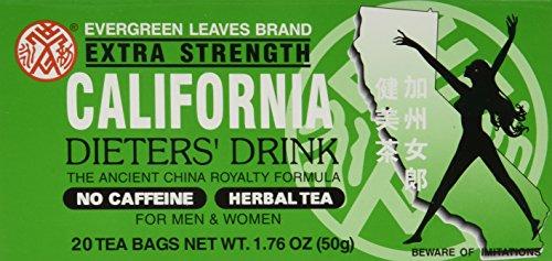 - Evergreen Leaves Brand California Dieters' Tea 20 TB
