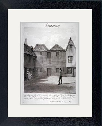 Print of \'The Reverend Whitaker\'s meeting house, Long Walk ...