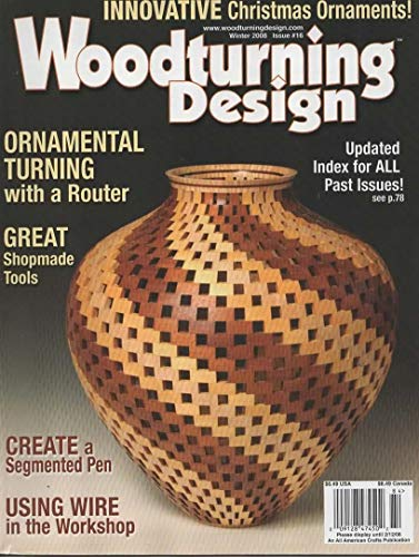 Woodturning Design Magazine, Winter 2008 (Issue No 16) (Outboard Turning Stand)