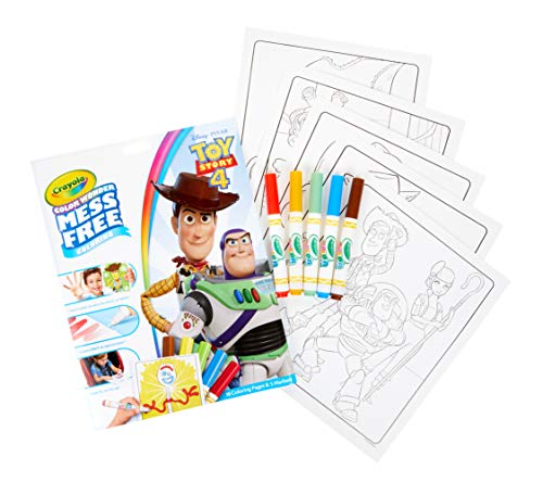 51EAM1vJHuL - Crayola Color Wonder Toy Story 4 Coloring Book Pages & Markers, Mess Free Coloring, Gift for Kids