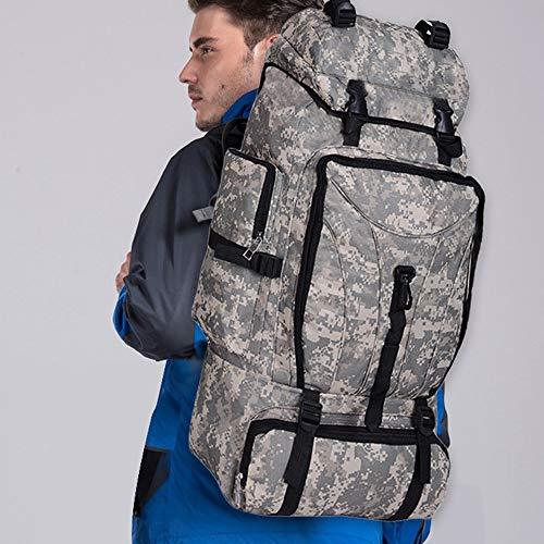 OOFAY-BAGS Multifuncional al Aire Libre Viajes Profesional Montañismo Mochila 90L Gran Capacidad Impermeable Mochila Portátil Camo Tácticas Militares ...
