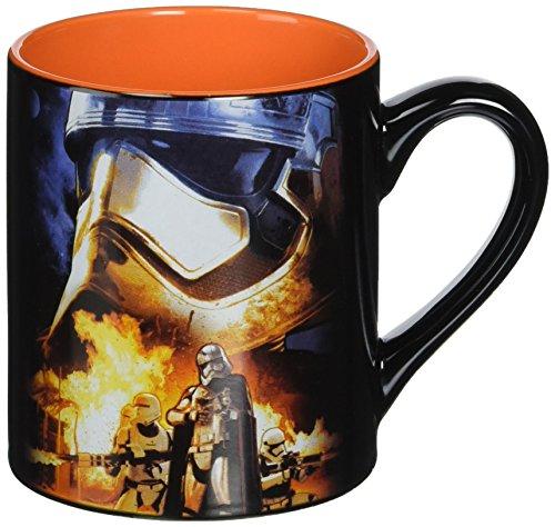 Silver Buffalo SE0532 Star Wars Episode 7 Captain Phasma Poster Ceramic Mug, 14-Ounces -