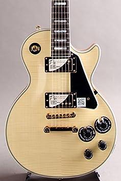 Nueva edición limitada Epiphone Les Paul Custom Pro 100º Aniversario 【 Natural 】 guitarra eléctrica: Amazon.es: Instrumentos musicales