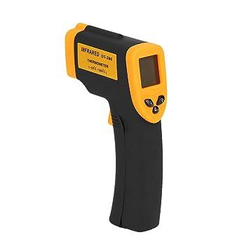Meteo estación meteorológica termometro termometro Digital Termómetro Profesional de Mano no Contacto termómetro infrarrojo