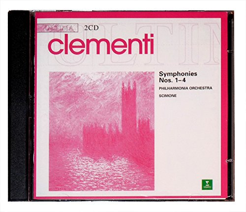 Clementi Symphonies Nos. 1-4 : Ultima 2CD