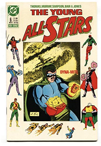 Young All Stars #6 1987 1st appearance of Paula Brooks as Tigress -