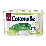 Cottonelle Gentle Care Double Roll Toilet Paper, 12 Count