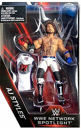 Hochwertig WWE Elite Collection WWE Network Spotlight AJ Styles Action Figure