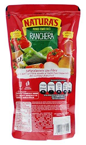 Amazon.com : Naturas Ranchera Sauce, Salsa, 6 Count : Grocery & Gourmet Food