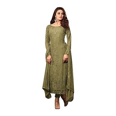 ETHNIC EMPORIUM Bollywood Salwar Kameez Vestido de Mujer ...