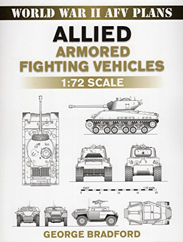 (Allied Armored Fighting Vehicles: 1:72 Scale (World War II AFV Plans))