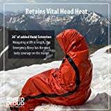 Emergency Sleeping Bag Thermal Waterproof Bivy Sack - Replace your Emergency Blankets with this Lightweight Survival Bivy Bag - The Ideal Emergency Bivy Sack to have in the Car or on a Hiking Trails
