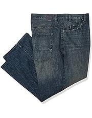Nautica Pantalón Vaquero elástico de Ajuste Relajado con 5 Bolsillos Jeans para Hombre