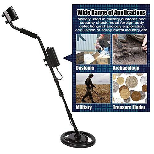 Smart Sensor AS944 Detector de Metales subterráneo Profesional Buscador de Plata Dorado Ajustable Treasure Hunter Tracker 3 m Profundidad: Amazon.es: Hogar