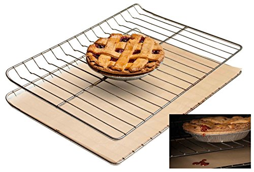 Non-stick Oven Liner - Heavy Duty Reusable Easy to Clean Baking Mat