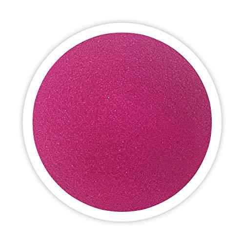 (Sandsational Begonia Unity Sand~1.5 lbs (22 oz), Hot Pink Colored Sand for Weddings, Vase Filler, Home Décor, Craft Sand)