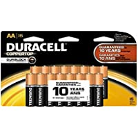 16-Pack Duracell Coppertop AA Alkaline Batteries + $15.99 Back in Rewards