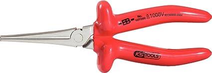 KS Tools 117.1280 Alicate pico de cigüeña Classic para 1000 V (tamaño: 200 mm