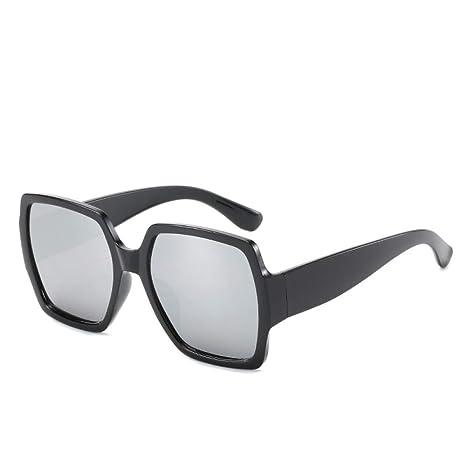 Yangjing-hl Gafas Gafas de Sol Moda Mujer Salvaje Caja ...