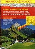 Austria/Liechtenstein/South Tyrol Marco Polo Road Atlas: 1:200 000/1:4.5 M