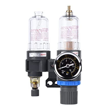 Jocestyle Air Compressor Oil-water Separator Air Regulator Water-trap Filter - - Amazon.com