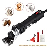 SUNCOO Electric Sheep Shears Pet Grooming Clippers for...