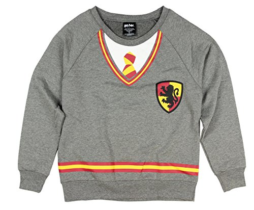 Ravenclaw Student Costume (Harry Potter Juniors Hogwarts Costume Long Sleeve Tee (S))