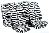 Heimsch Car Seat Cover, Cow or Zebra or Leopard Soft Velboa
