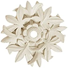 Pentair 5821503 WallSpring White Circle Leaves Rosette Decorative Accent