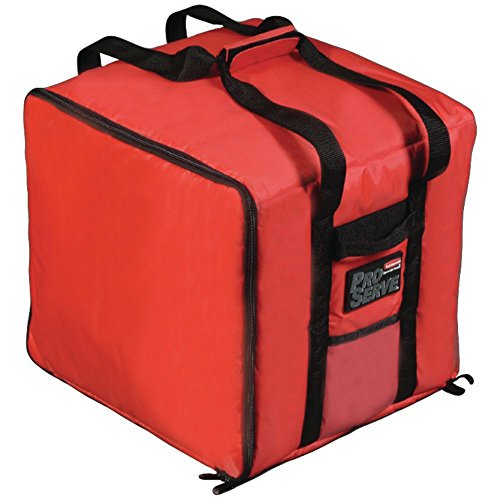 (Rubbermaid ProServe Red Nylon Medium Food Delivery Bag - 19 3/4