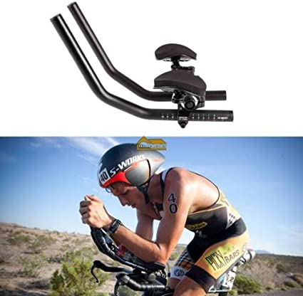 Matt carbon Fiber TT Handlebar Bicycle Aero Bar Tri Bar Cycling Rest Handlebar