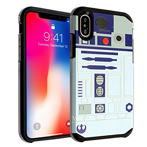 Star Wars R2D2 iPhone Xs Case, DURARMOR Dual Layer for sale  Delivered anywhere in USA