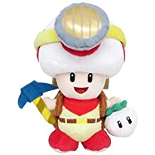 """Plush - Nintendo - Super Mario Captain Toad Standing 9"""" Soft Doll 1409 by Little Buddy"""