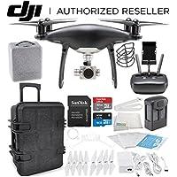 DJI Phantom 4 PRO Obsidian Edition Drone Quadcopter (Black) Travel Case Starter Bundle