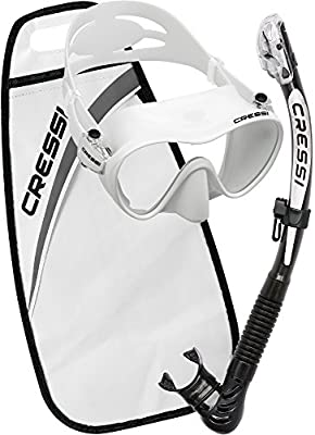 Cressi F1 + Alpha Ultra Dry Packs de Snorkel, Unisex Adulto ...