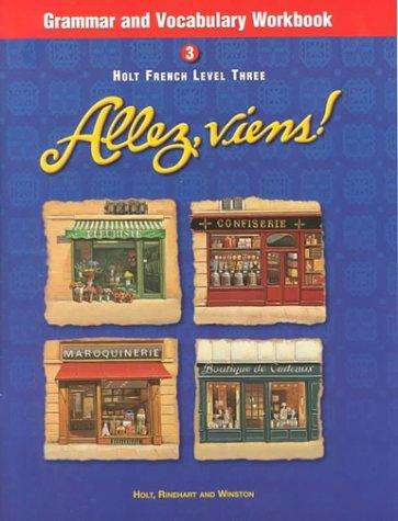 Allez, Viens! French, Level 3 - Grammar and Vocabulary Workbook