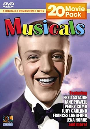 Amazon com: Musicals 20 Movie Pack: Fred Astaire, Jane Powell, Perry