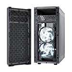 Fractal-Design-Focus-G-Mid-Tower-Computer-Case-ATX-High-Airflow-2x-Fractal-Design-Silent-LL-Series-120mm-White-LED-Fans-Included-USB-30-Window-Side-Panel-Grey-FD-CA-FOCUS-GY-W