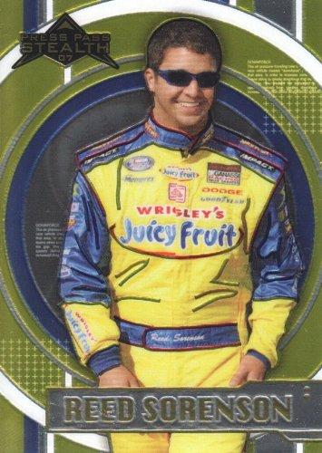 2007 Press Pass Stealth Chrome NASCAR Racing #44 Reed Sorenson NASCAR Busch Series