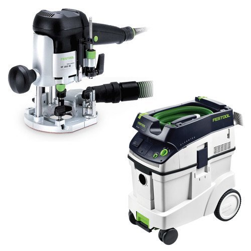 Festool OF 1010 EQ Router with T-Loc + CT 48 Dust Extractor Package ()