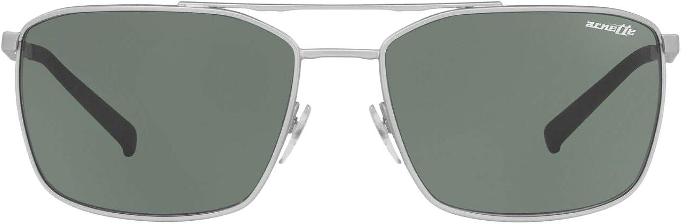 Arnette 0AN3080 Gafas de sol, Silver Rubber, 62 para Hombre ...