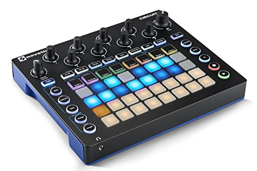 Novation Circuit Groove Box w/Sample Import: 2-Part Synth, 4-Part Drum Machine and Sequencer