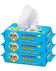 Kodomo Baby Wipes Triple Pack, Refreshing, 70ct (Pack of 3)