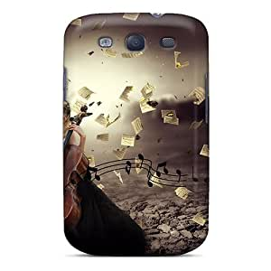 For Galaxy Case, High Quality Music Of My Heart For Galaxy S3 Cover Cases