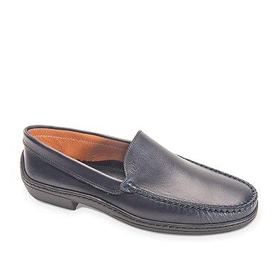 VALLEVERDE Scarpe Uomo Mocassini in Pelle blu 11826-BLU  Amazon.co.uk   Shoes   Bags 45d4e3ac5fe